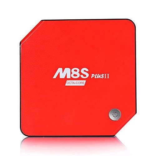 Androide Fernsehkasten 6.0 【2Gb RAM + 16Gb ROM】 2018 Amlogic S912 Octa Kern 64 Bit 2.4G / 5G Doppelschiene Wifi 4K HD 1000M LAN BT 4.0 X Super intelligenter Medien-Spieler mit LED-Anzeige