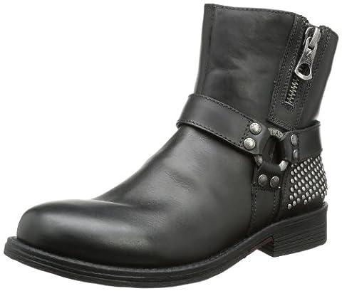REPLAY, Herren Biker Boots, Schwarz (BLACK 3), EU 41