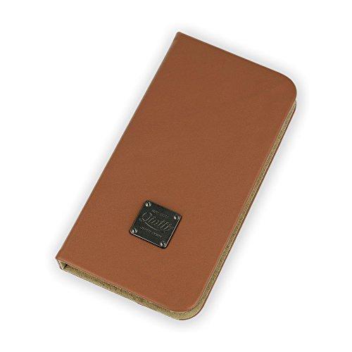 QIOTTI QP-B-0100-01-IP6P Book Slim Carrier für Apple iPhone 6 Plus in Magic braun Slim Carrier