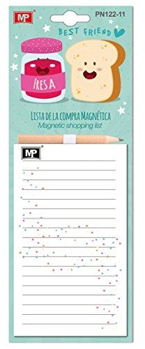 MP PN122-11 - Lista de compra magnética con lápiz