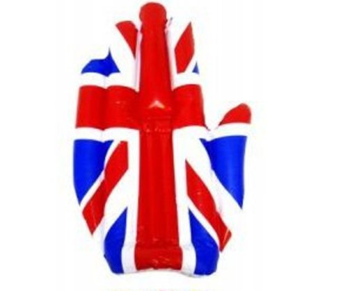Inflatable Union Jack 50cm main