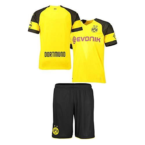 Personalisierte Jersey Heim & Auswärts 2019-2020 Custom Soccer Shirt Kits für Kinder Erwachsene mehrere Clubs mit Namen und Nummer (Kinder Personalisierte Artikel)