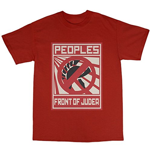 Peoples Front Of Judea T-Shirt Baumwolle Rot