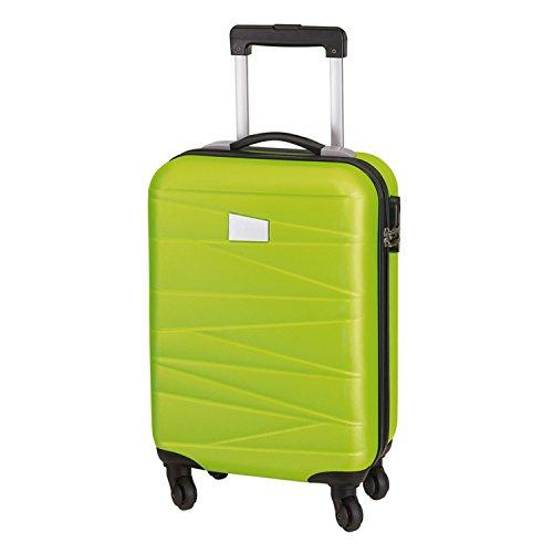 Bagages à main Padoue Vert clair avec 4 roulettes 55 x 35 x 20 cm