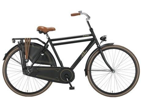 Herren Hollandrad Altec London 28-Zoll schwarz 57cm