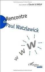 Rencontre de Paul Watzlawick