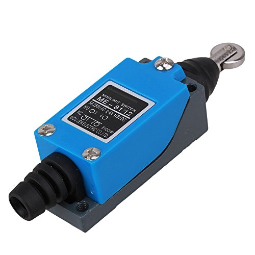 BQLZR AC250V/5A DC115V/0.4A ME-8112 Parallel Roller Plunger Actuator Limit Switch - Limit Switch, Roller