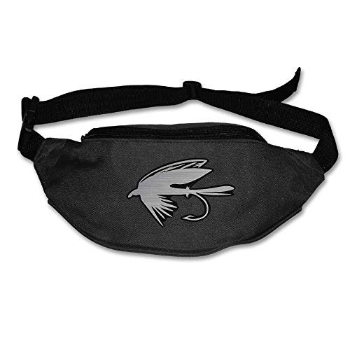 Waist Bag Fanny Pack Fly Fishing Lure Unisex Outdoor Sports Pouch Running Belt Fitness Travel Pocket Purse