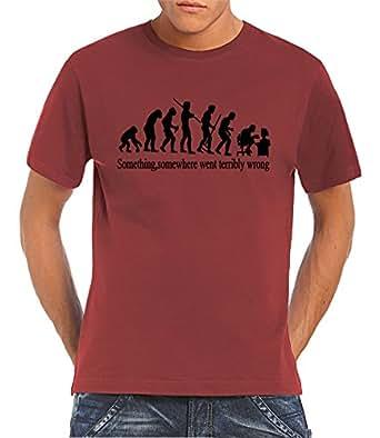 Touchlines - T-Shirt - Coque - Manches Courtes Homme -  rouge - XXXXXL