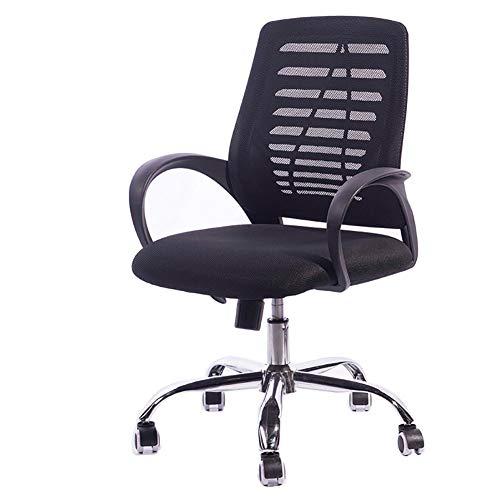 MEETA Bürostuhl/Chefsessel mit mittlerer Rückenlehne, ergonomisch, mit Netzstoff, verstellbar