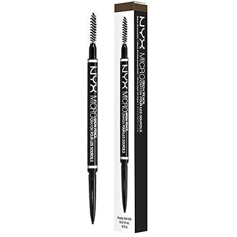 NYX - Micro Brow Crayon Ash Brown - 0,018 onces. (0,5 g)