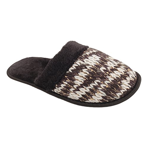 Slumberzzz - Pantofole a maglia - Donna Nero