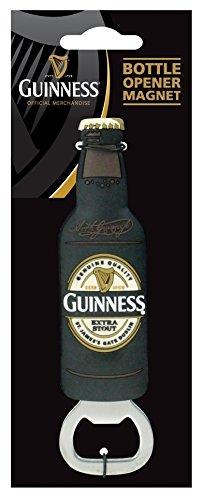 Guinness Pvc Opener And Magnet - Bottle (Guinness Flaschenöffner Magnet)