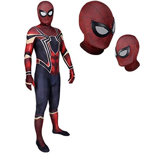 Spiderman Neue Alte Kostüm Und - YEGEYA Spiderman Cosplay Kostüm Halloween Erwachsene Kinder Strumpfhosen Party Requisiten (Color : Child, Size : S)