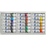 Aquarellfarben Set mit 18 Tuben