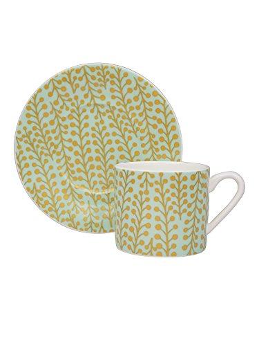 Fine Bone China Mint (Cacharel Mimosa Mint-Mug Cup/Saucer)