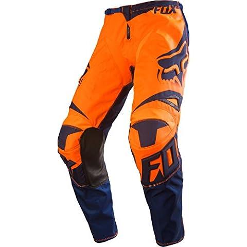 Pantaloni Motocross Fox 2016 180 Race Arancio-Blu (38 Vita =