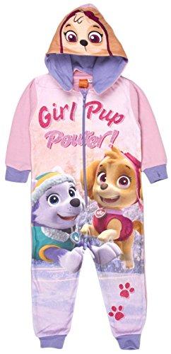 27d2956f5cda 5054782318360 EAN - Paw Patrol Fleece Onesie Reversible Hood Pyjamas ...