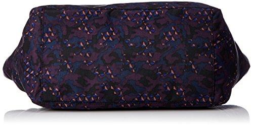Kipling - Lots Of Bag, Borse a secchiello Donna Multicolore (Soft Camo)