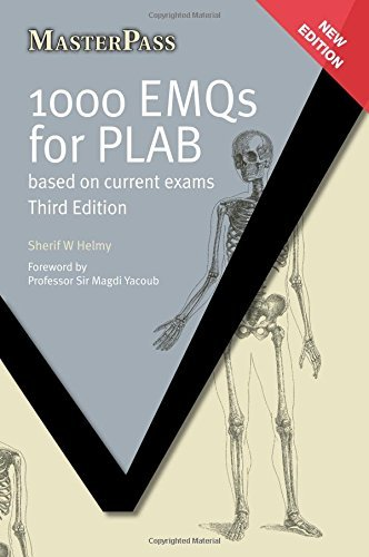 Free 1000 EMQS FOR PLAB ELECTRONIC Based On Current Exams MasterPass PDF Download