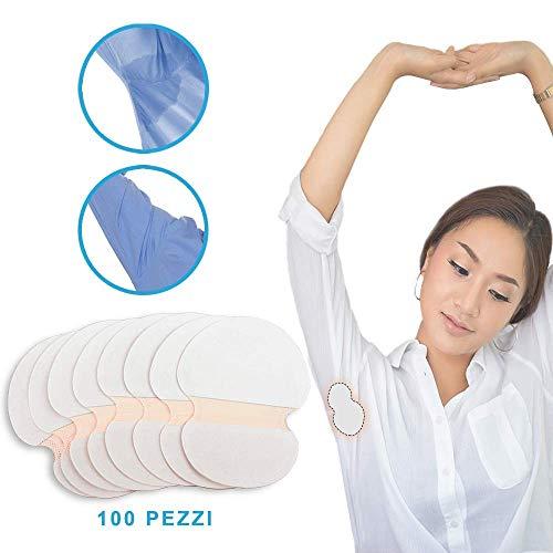 Stillcool ascelle assorbenti 100/200pcs ascellare ascella sudore traspirazione rilievi scudo absorbing assorbente (100 pcs)