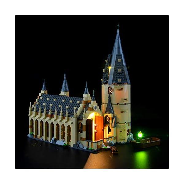 LIGHTAILING Set di Luci per (Harry Potter La Sala Grande di Hogwarts) Modello da Costruire - Kit Luce LED Compatibile… 2 spesavip