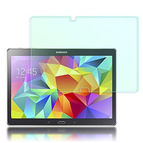 NALIA Schutzglas kompatibel mit Samsung Galaxy Tab S 10.5', Full-Cover Displayschutz Tablet-Folie, 9H Härte Glas-Schutzfolie Bildschirm-Abdeckung, Schutz-Film Clear HD Screen Protector - Transparent - S Galaxy Screen-ersatz Duos