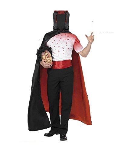 Costume halloween uomo senza testa - travestimento-m