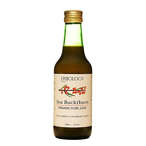 Succo di Olivello Spinoso Bio 250ml -Omega 7 - Vitamina C - Vitalizzante -Anti-età -Antiossidanti