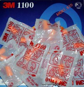 3M 1100- Tapones para los oídos, protectores contra el ruido, 5bo