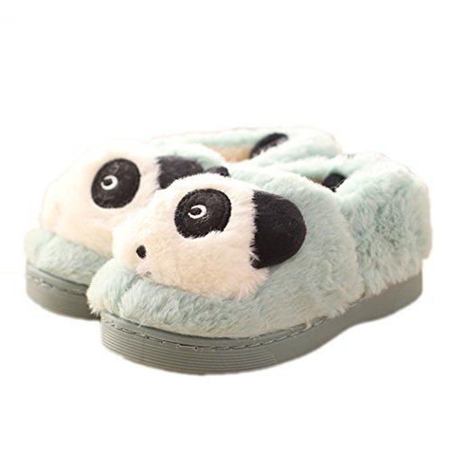 Ciabatte Di Peluche Animali Da Donna Estate Mae Pantofole In Peluche Blu