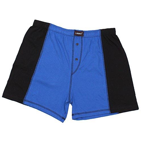3er Pack Herren Boxershorts in Übergröße Nr. 395 - Farben und Muster können variieren (10, Mehrfarbig) - 6