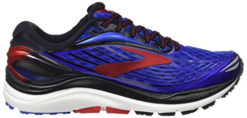 Brooks Transcend 4, Chaussures de Course Homme Bleu (Electricbrooksblue/black/silver)