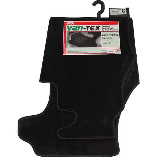 Preisvergleich Produktbild APA Auto-Teppich Van-Tex Form C Passform-Auto-Teppich Trittschutz, Fußmatten
