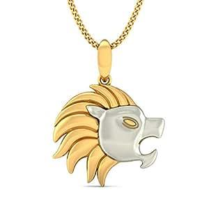 Buy bluestone 22k 916 yellow gold lion pendant online at low bluestone 22k 916 yellow gold lion pendant aloadofball Choice Image