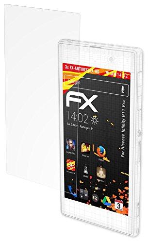 atFolix Schutzfolie kompatibel mit Hisense Infinity H11 Pro Bildschirmschutzfolie, HD-Entspiegelung FX Folie (3X)