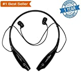 #3: Robozy HBS-730 P Bluetooth Sport Earphones With Call Features for Android/iOS Devices (Color may vary)