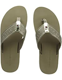Tommy Hilfiger Flexible Essential Beach Sandal amazon-shoes neri Estate