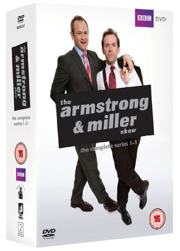 The Armstrong and Miller Show - Series 1-3 (3 DVDs)
