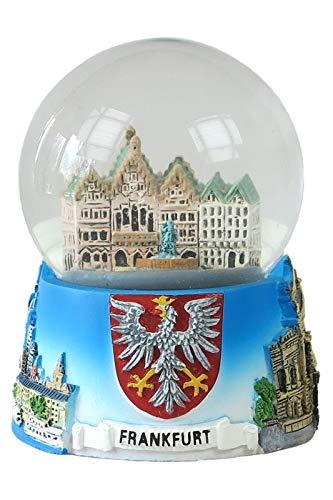 0320716091 Souvenir Schneekugel Mini Frankfurt Skyline Römer Alter Markt - 45mm