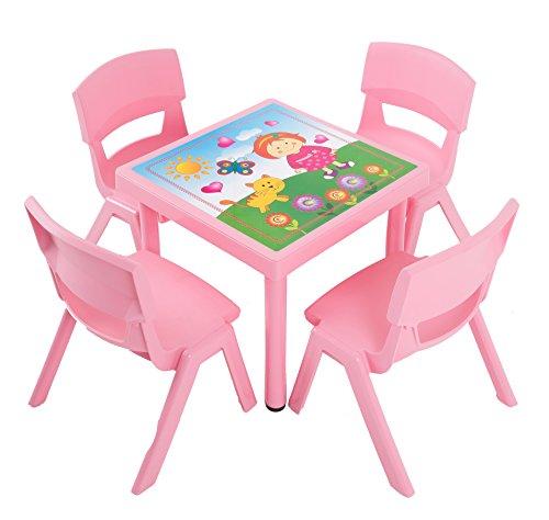 Dajar Gartenmöbel-Sets Kinderstuhl Jumbo, rosa