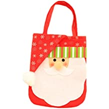 Ruikey Bolso del Caramelo de la Navidad Bolso de la Bolsa del Regalo de Papá Noel