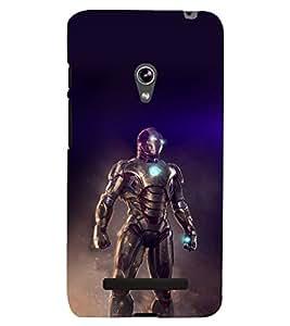 printtech Iron Suit Tesla Core Back Case Cover for Asus Zenfone 5 / Asus Zenfone 5 A500CG