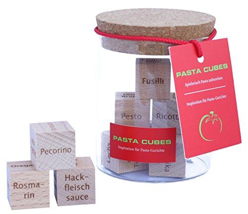 Dieses Geschenk bietet über 45.000 erstaunlich leckere Pastarezepte. Wie kann das sein? PASTA CUBES (Kann Jetzt Frauen)