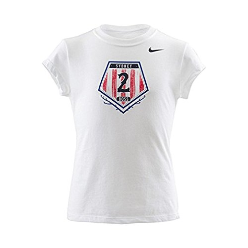 Nike Sydney Leroux US M?dchen Jugend Held Tee (M?dchen gro?) (Qualität Jersey Jugend)