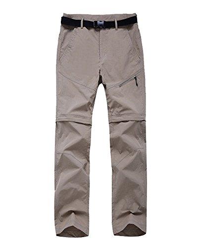 Herren & Damen Cabrio Schnell trocknend T-Shirts & Casual Pants Women's Bottom Khaki