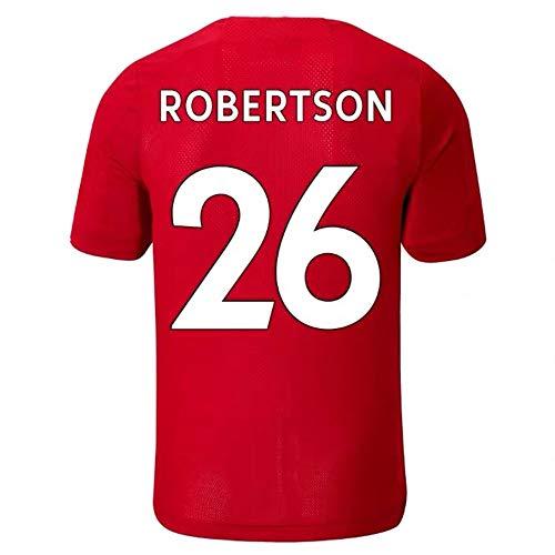 GEXING Andrew Robertson # 26 Fußballbekleidung - atmungsaktiv, schnell trocknend (Color : Red, Size : S)