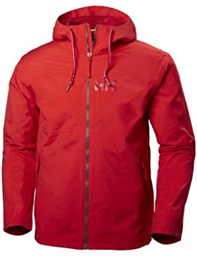 Helly Hansen Rigging Rain Chaqueta, Hombre, Rojo, X-Large (Tamaño del Fabricante:XL)
