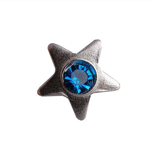 Blue Banana Body Piercing 3mm (Durchmesser) Dermal Top Stern (Capri) Passt Auf 1.2mm (Breite) Bar Oder Labret (Capri Top)