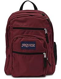 Jansport Big Student - Mochila, Unisex Adulto, TDN79FL, Viking Red, 17.5